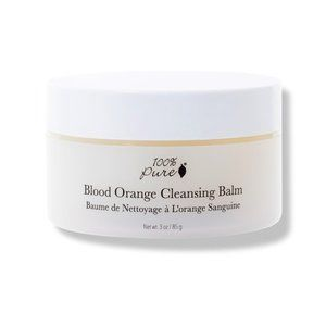 100% Pure NEW Blood Orange Cleansing Balm